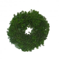 Wreath - pine bough, 22 inch, undecorated