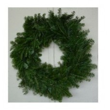 Wreath - pine bough, 28 inch, undecorated